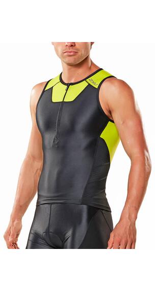 2XU X-Vent Triathlonkläder Herr gul/svart